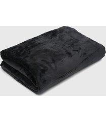 cobertor king kacyumara blanket grafite cinza - cinza - dafiti