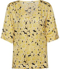 ellen t-shirt blouses short-sleeved gul nué notes