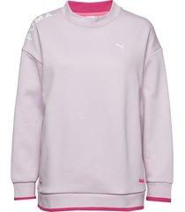 chase crew sweat-shirt tröja rosa puma