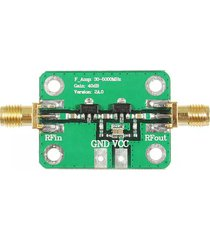 30-4000mhz 40db de ganancia rf módulo amplificador de banda ancha para