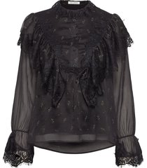 blouse blus långärmad svart sofie schnoor
