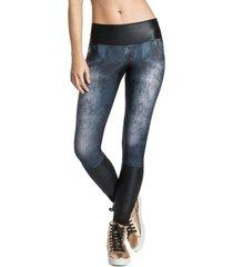 calça legging jeans live power cut