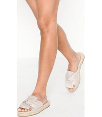 nly shoes braided twist sandal tofflor