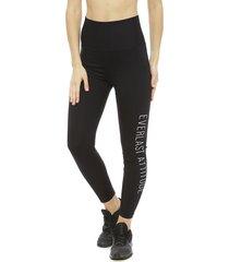 legging everlast long band motivation negro - calce ajustado