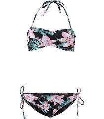 bikini a fascia (nero) - rainbow