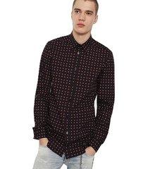 camisa s akura shirt negro diesel