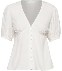 petunia ss blouse 10056 blouses short-sleeved wit samsøe samsøe