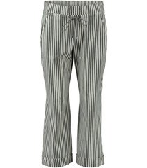 broek gebroken wit streep
