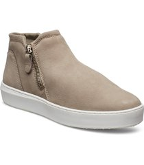 woms slip-on shoes boots ankle boots ankle boot - flat beige tamaris