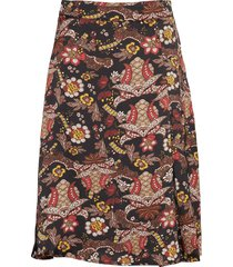 cardi skirt knälång kjol multi/mönstrad minus