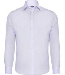 camisa masculina social - lilás