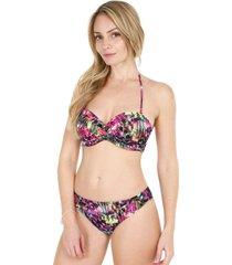bikini copa bandeau estampado multicolor  h2o wear