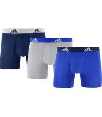 adidas men's 3-pk. climalite boxer briefs