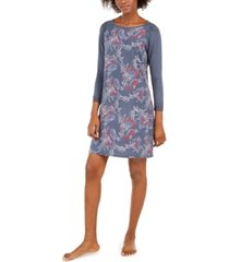 sesoire women's printed modal short nightgown