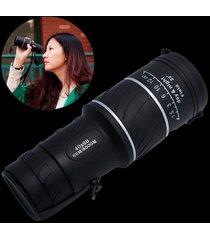 ¡gran venta! 40x60 hd óptico monocular caza camping-negro