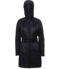 abrigo astrid hoodie negro doite