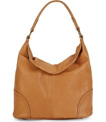 madison leather hobo bag