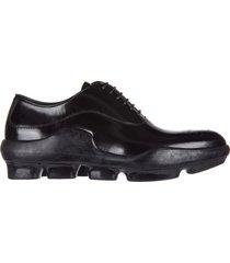scarpe stringate classiche donna in pelle spazzolato