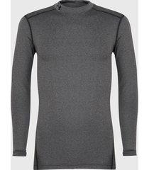 primera capa under armour ua cg armour mock gris - calce ajustado