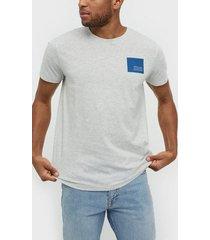 solid dave ss t-shirt t-shirts & linnen fog