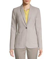 riesling single button blazer