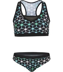 bikini a bustier (set 2 pezzi) (nero) - bpc bonprix collection