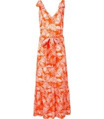bambah triangle summer dress - orange