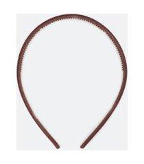 tiara de cabelo em veludo | accessories | marrom | u