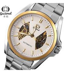 reloj- relojes informal de negocios de moda reloj-blanco