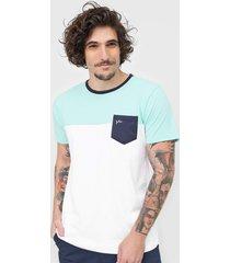 camiseta yachtsman bolso verde