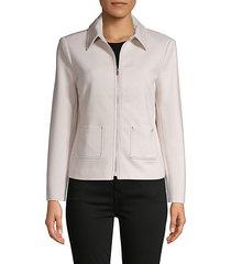 long-sleeve zip jacket