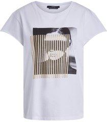 t-shirt met opdruk may  wit