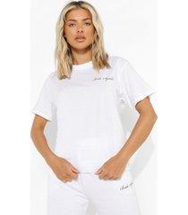 bridal squad t-shirt, white