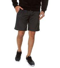 pantaloneta gris-negro adidas performance own the run sh