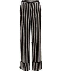 day outline pantalon met rechte pijpen zwart day birger et mikkelsen