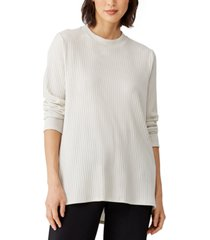 eileen fisher ribbed tunic top