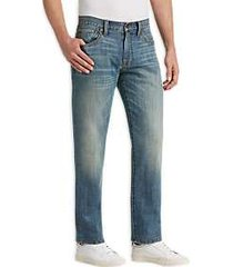 lucky brand 181 grand prairie light wash relaxed fit jeans