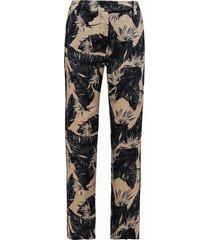 giuliette brown pantalone chino in lino