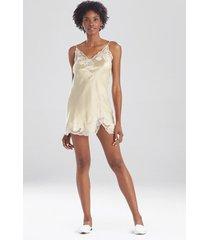 lolita lace chemise sleepwear pajamas & loungewear, women's, 100% silk, size l, josie natori