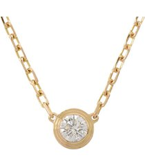cartier diamants legers necklace gold sz: