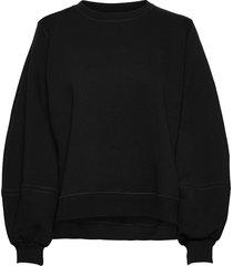 software isoli sweat-shirt trui zwart ganni