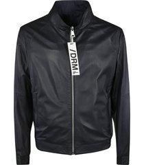 drome leather zip jacket