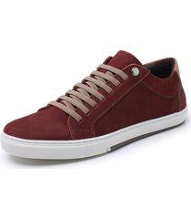 sapatenis sandalo vintage bordo - bordã´ - masculino - dafiti