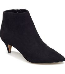 kinzey shoes boots ankle boots ankle boots with heel svart sam edelman