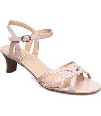 formal shoes others sandal med klack röd esprit casual