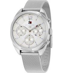 reloj tommy hilfiger 1781628 plateado -superbrands