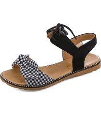 sandalias de mujer sandalias planas casuales frente de mujer con sandalias