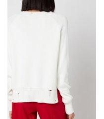 golden goose women's delilah flock print sweatshirt - pristine - l