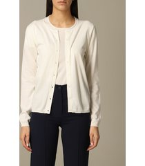 cruciani cardigan cruciani long-sleeved cotton cardigan