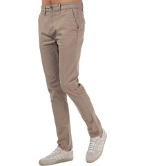 crosshatch black label mens kelso chino pant size 30l in cream